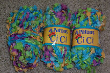 LOT OF 2+ PATONS CICI YARN - PARADE - DISCONTINUED