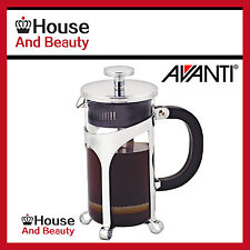 NEW Avanti Cafe Press Glass Coffee Plunger 375ml / 3 Cup Code: 15500! RRP $34