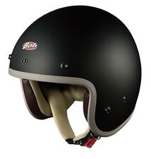 NEW OGK KABUTO BOBZ FLAT(MATT) BLACK Street Jet Helmet Japanese Model