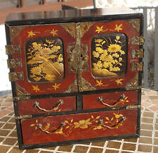 Japanese jewellery box dating to late 19th century