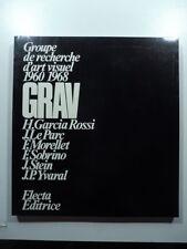 Groupe de recherche d'art visuel 1960-1968 GRAV H. Garcia Rossi, J. Le Parc...