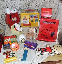 Snoopy Peanuts LARGE Fun Assorted Lot....LOOK