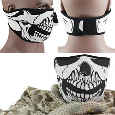 Novelty Skull Neoprene Half Face Mouth Mask Ski Snowboard Motorcycle Protection