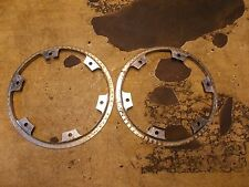 1989 Kawasaki En EN 450 454 LTD Rear Wheel Trim Rings x2