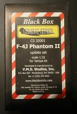 1:32 Black Box #CS32001 F-4J Phantom II Update Set for Tamiya