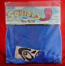 Squibby The Octo Kite Vintage Sky Way Products Streamer Tails New Unopened Blue