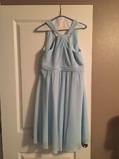David's Bridal Prom Capri colored dress size 10