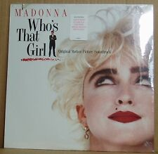 LP Madonna Who's that Girl Soundtrack Sire US 1987  still sealed