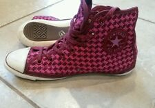 Converse Chuck Taylor All Star Womens girls sz 5.5 Wool Winter Knit HighTop Shoe