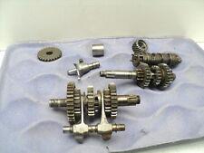 #3256 Yamaha DT100 DT 100 Enduro Transmission & Misc. Gears / Shift Drum & Forks