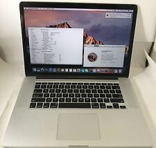 "MacBook Pro i7 2.3 15"" Retina Mid 2012 16GB 256GB SSD - OSX 10.12.4 *74"