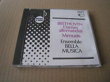 BEETHOVEN GERMAN DANCES MENUETS ENSEMBLE BELLA MUSICA HARMONIA MUNDI CD