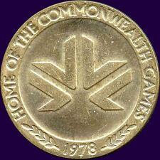 "1978 Commonwealth Games ""Edmonton"" Coin Token (32 mm 13.1 Grams)"