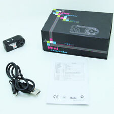 Digital Spy Camera Recorder HD Mini Thumb DV DVR Motion Detect Video Rec Webcam
