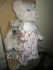 Barton's Creek GUND Collectible Mindy Honey Simulated Mohair Jointed Teddy Bear