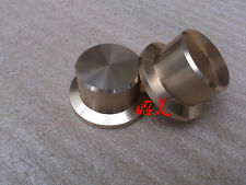 diameter:48mm gold amplifier knob full aluminum audio volume knob for 1pcs