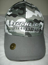 Nice Camo TORKLIFT International Logo Embroidered Ball Cap Hat Velcro Strap