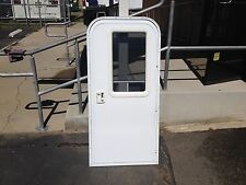 RV Entry Door with Built in Screen Door Custom Sizes Available