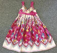 Ragazze Monsoon Bellissimo Vestito Multicolore età 4-5 perfetto per un matrimonio, ecc.
