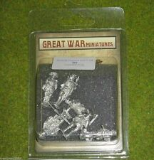GREAT WAR MINIATURES British Command Group 1918 28mm B9