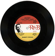 "BARRETT STRONG  ""MONEY (THAT'S WHAT I WANT) c/w MISERY""  MOTOWN / R&B   LISTEN!"