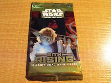 STAR WARS TCG Sith Rising Sigillato Confezione da 11 carte