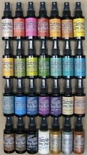 Tim Holtz DISTRESS SPRAY STAIN ink You pick 5 Ranger Bottles