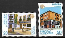 Andorre, Spanish - 1990 Europa Cept / Post Offices Mi. 214-15 MNH
