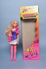 1986 Jem and the Holograms - Rock N Curl Jem doll - In Box
