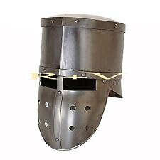 MEDIEVAL KNIGHT CRUSADER ARMOUR HELMET