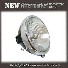 [3.1] HONDA CB100 CL100 CL100S CB125S CL125S SS50 M/Z HEAD LIGHT *GLASS* + CASE