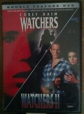 Watchers 1 & 2 Double Feature (DVD, 2003) RARE !, COREY HAIM = Very good disc!