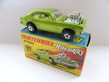 Matchbox Superfast 67b Hot Rocker Ford Capri - Metallic Green - Mint/Boxed