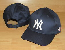 NEW YORK YANKEES MLB TEAM 100 % COTTON ADJUSTABLE HAT CAP MENS
