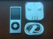 Apple 16GB iPod Nano 4th Generation Silver Mint Condition