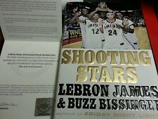 Lebron James Shooting Stars Autographed Signed Book Matching UPPER DECK UDA COA