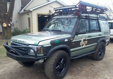 LAND ROVER DISCOVERY 1&2  ROCK SLIDER w/ TREE BAR... UNPAINTED..you paint