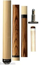 NEW Players JB9 Zebrawood Jump/Break Cue - JB-9 - Free Jt Caps & Q Wiz