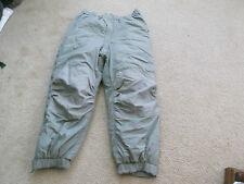 US MILITARY G III ECW EXTREME COLD WEATHER TROUSERS SIZE MEDIUM - LONG NEW