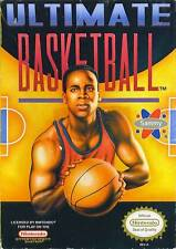 Ultimate Basketball - NES Nintendo Fun Game