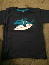 Gymboree Surf Wagon Boys Shirt Size 18-24 Months Fish Nwt