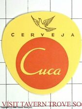 Angola Uniao Cerveja Cuca Large Beer Label Tavern Trove