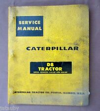 CATERPILLAR CAT D8 TRACTOR SERVICE MANUAL S/N 14A1 & 15A1 Original