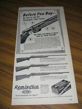 1946 Print Ad Remington Targetmaster,Scoremaster,Sportmaster Bolt Action Rifles