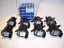 GM 4.8L 5.3L 6.0L Round Style Ignition Coils kit V8 set of 8 Free Grease Pack!!!