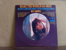 BILLY CAMPBELL, MAKE THE WORLD GO AWAY - LP CHEESECAKE