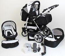 Volver Kombikinderwagen Kinderwagen 3in1 mit Babyschale Poussette Pram child