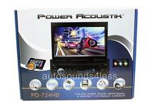 "Power Acoustik PD-724HB 1 DIN CD/DVD Player 7"" Bluetooth Android MobileLink 8.2"