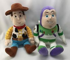 "Disney Kohls Kids Woody & Buzz Light year Stuffed 14"" Characters"