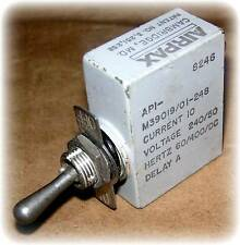 Breaker, Circuit, Sealed, SP, 10A @50VDC – 240VAC, 50/60/400 Hz. (M39019/01-248)